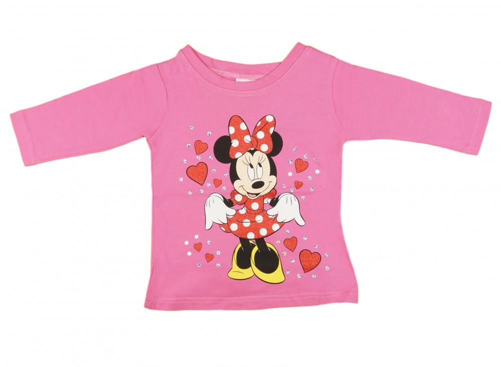 Disney Minnie hosszú ujjú póló (méret 86-116) - Babaruha ... cbfd593401