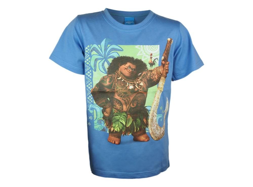 Disney Vaiana rövid ujjú fiú póló (méret 98-128) - Babaruha ... 972512f8df