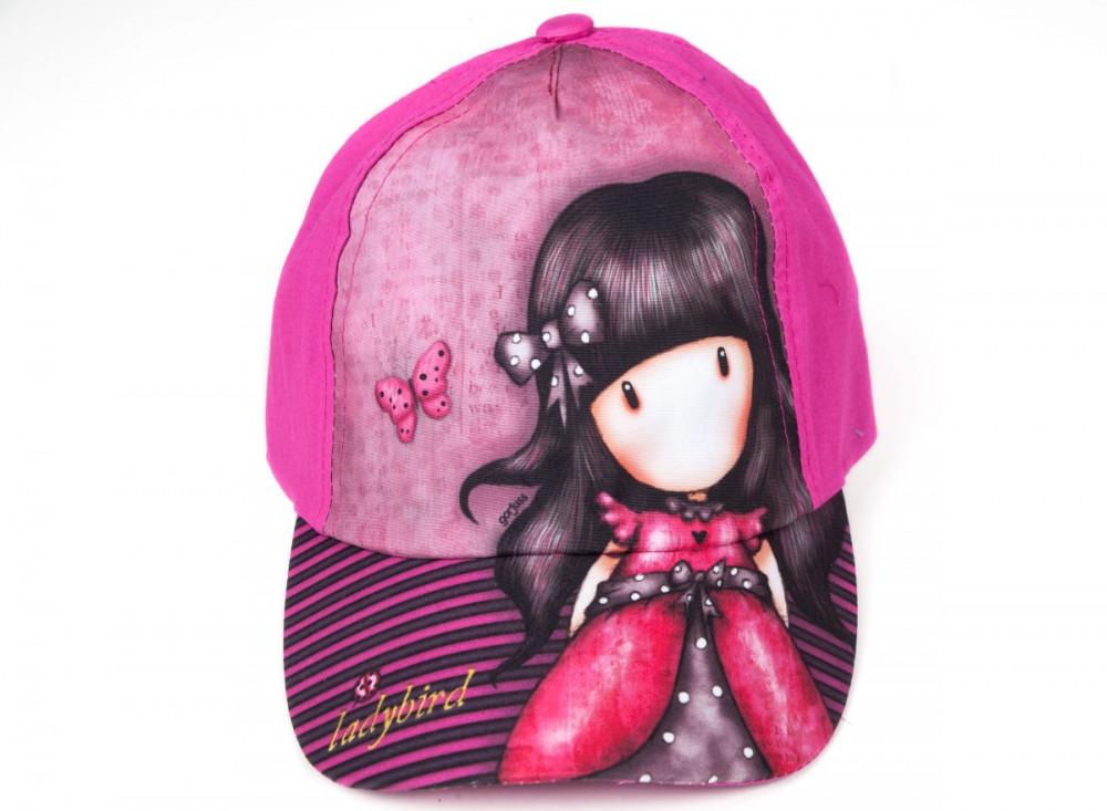 Santoro lányka nyári baseball sapka UPF30+ pink (54cm) - Babaruha ... 9fda4ada04