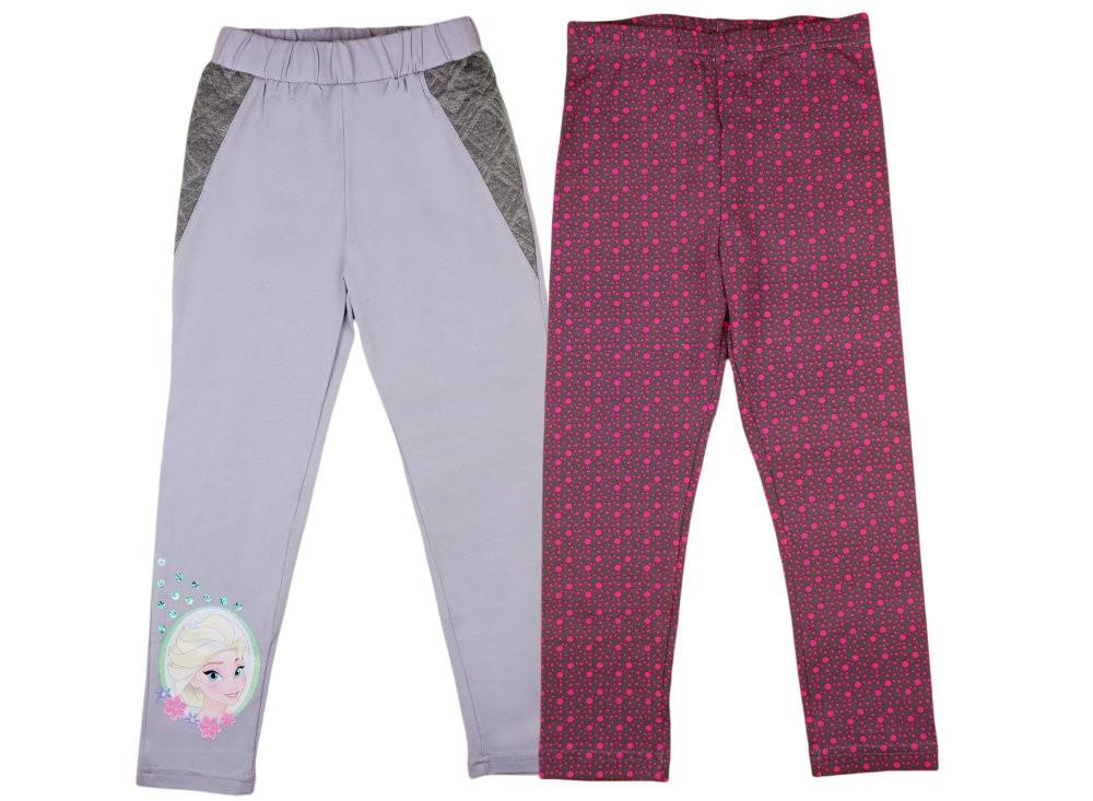 ec541a615d Disney Jégvarázs-Frozen mintás- pöttyös lányka páros leggings szett ...