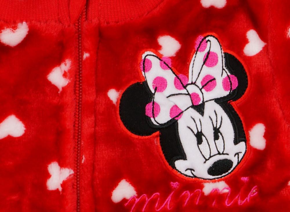 Disney Minnie lányka wellsoft szíves kocsikabát (kardigán ... 9b099c3b1f