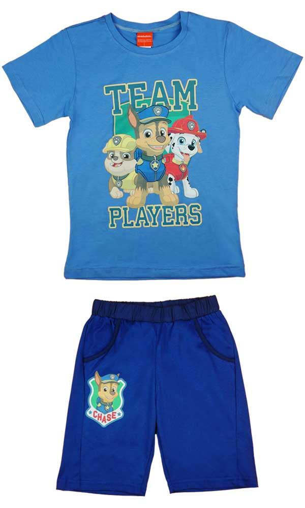 Paw Patrol Mancs őrjárat fiú 2 részes póló short szett - Babaruha ... e08f6718b8