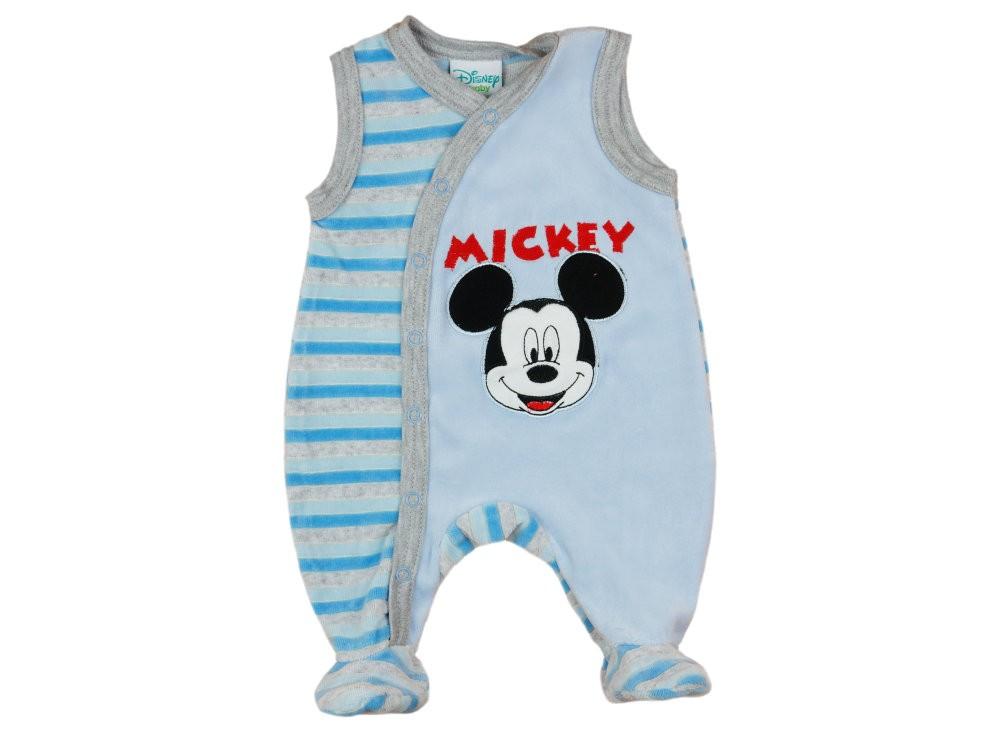 Disney Mickey fiú ujjatlan plüss rugdalózó - Babaruha  d5336a45ac
