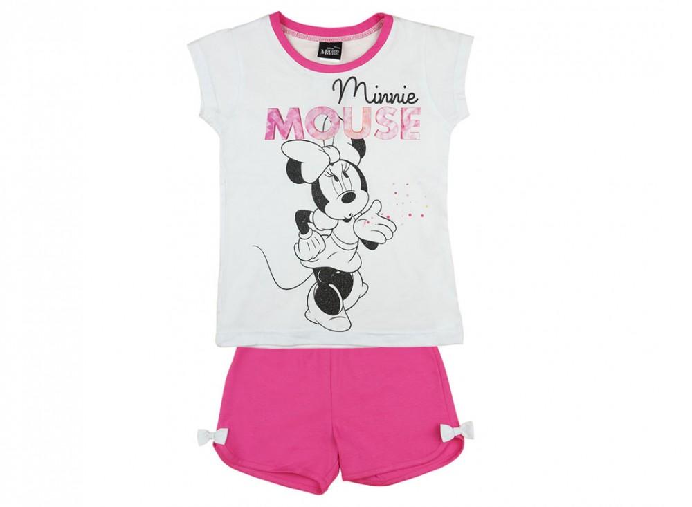 Disney Minnie lányka rövid ujjú 2 részes szett - Babaruha ... a1ec1c88de