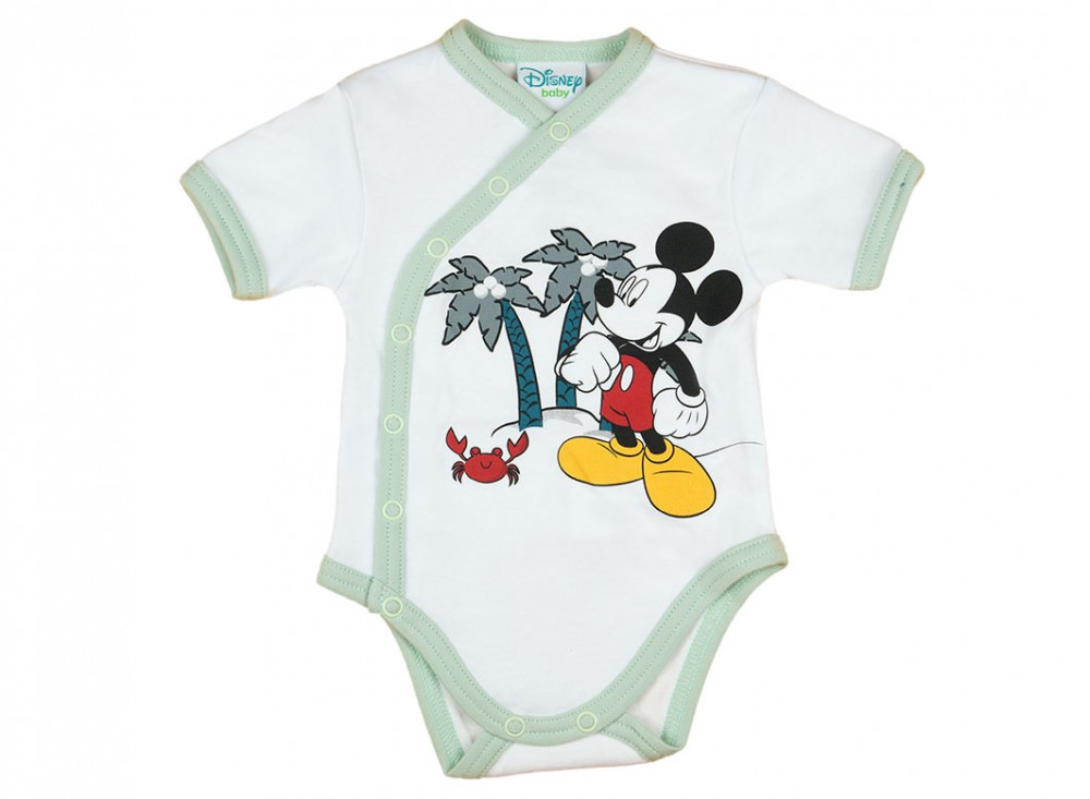 Disney Mickey elején patentos rövid ujjú kombidressz - Babaruha ... cff5c471a4