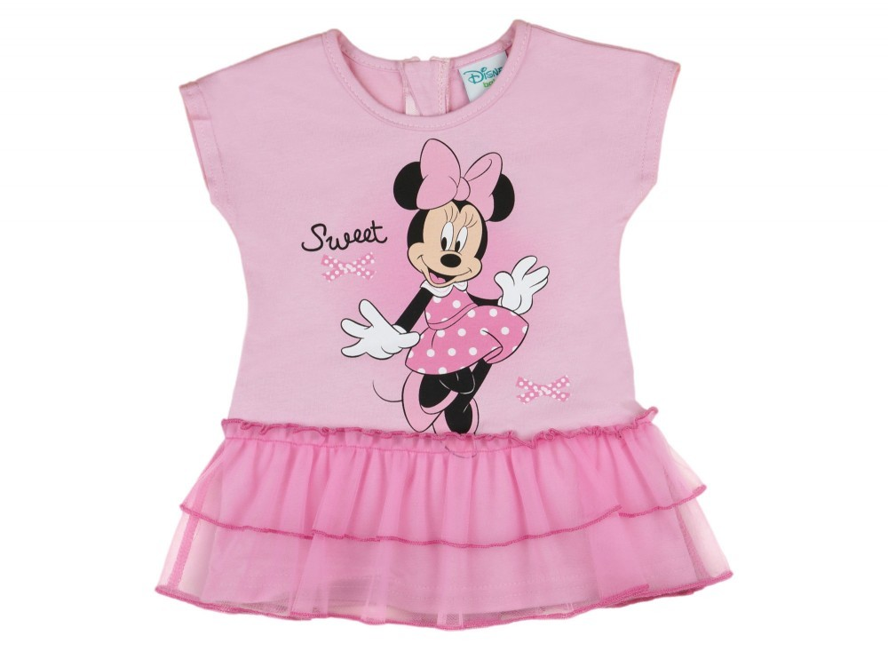Disney Minnie lányka tüllös ruha rózsaszín - Babaruha  314ed3edb3