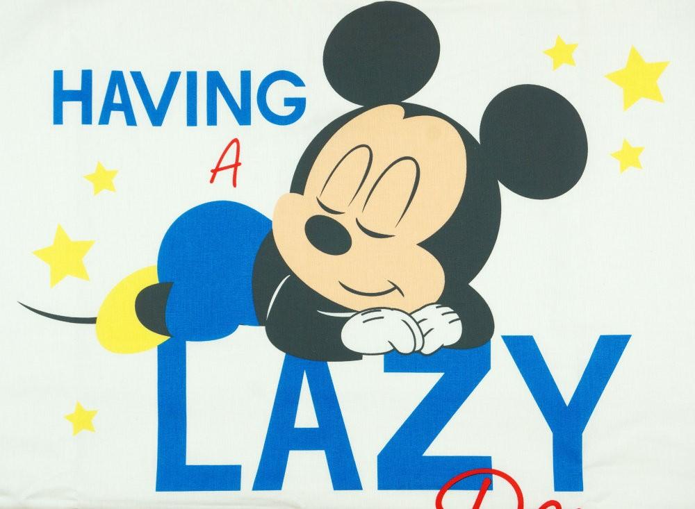 Disney Mickey fiú 2 részes ágynemű szett csíkos betéttel - Babaruha ... 9ce79be6ed