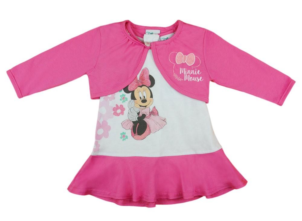 Disney Minnie lányka ruha boleróval - Babaruha  2b059be29e