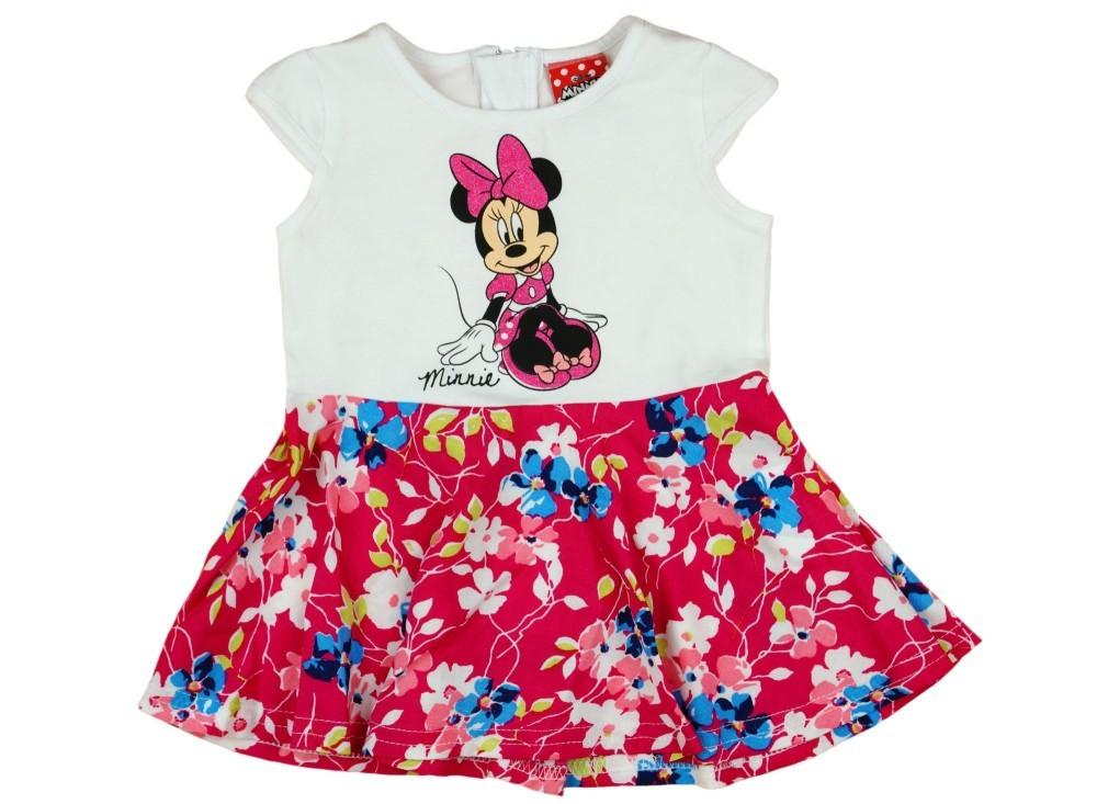 Disney Minnie lányka ruha virágos - Babaruha  9158e69365