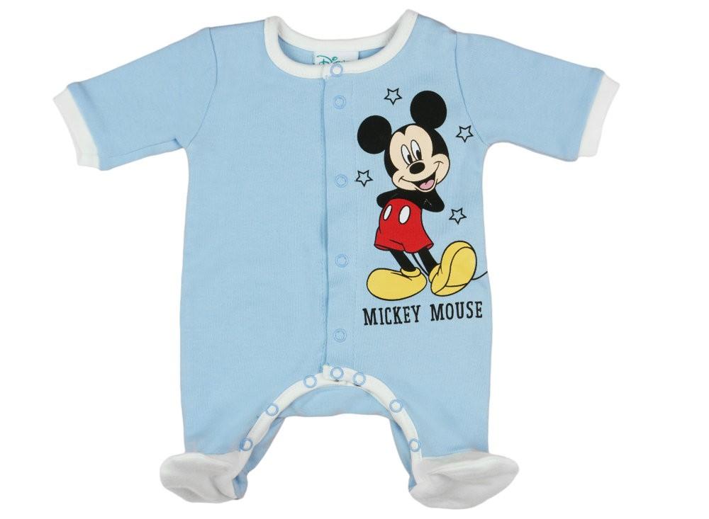33bc329c60 Disney Mickey elöl patentos hosszú ujjú rugdalózó (inter) - Babaruha ...