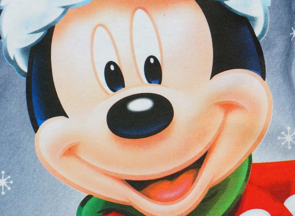 ae31b308af Disney Mickey Mikulás mintás hosszú ujjú kombidressz - Babaruha ...
