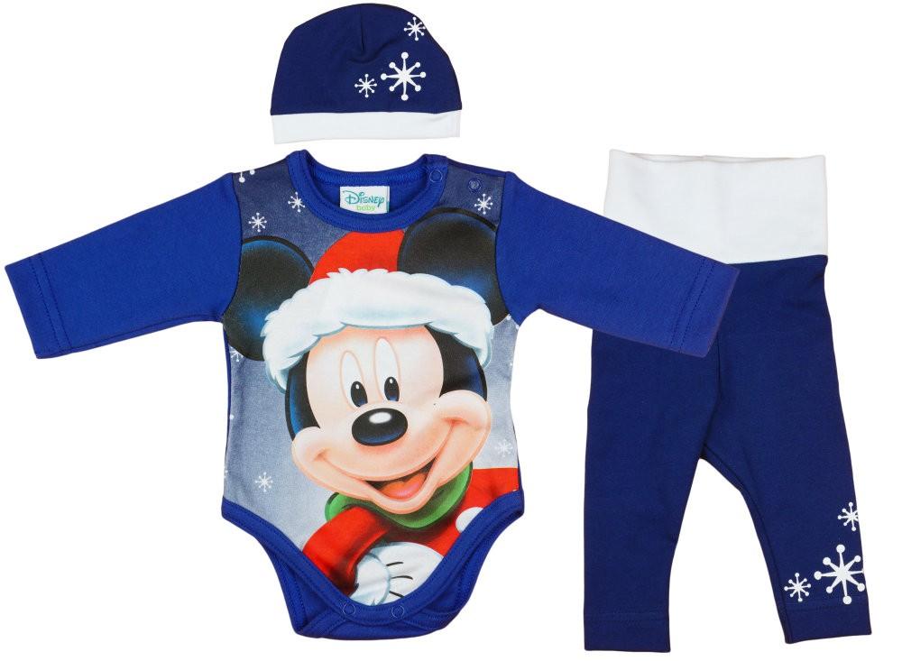 Disney Mickey 3 részes (sapka+nadrág+body) szett Karácsony ... cc2203f105