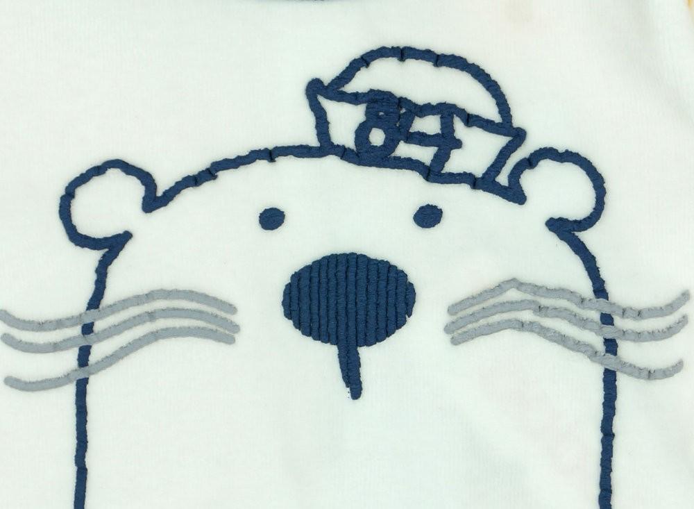 Boboli hosszú ujjú plüss rugdalózó jegesmedve - Babaruha ... 21b70a9829