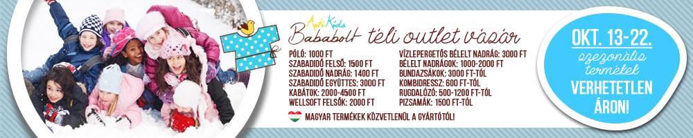 Téli Outlet Baba és Gyerekruha Vásár - Asti Bababolt Budapest