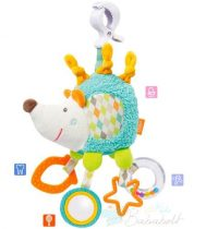 Baby Fehn felakasztható süni csörgő