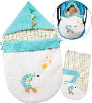 Baby Fehn babatakaró -kék