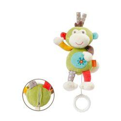 Baby Fehn felhúzható zenélő játék - majom
