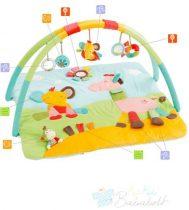 Baby Fehn Safari 3-D-Activity játszó szőnyeg