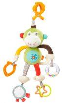 Baby Fehn felakasztható majom csörgő