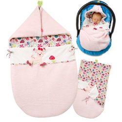 Baby Fehn babatakaró - rózsaszín