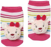 Baby Fehn csörgős baba zokni