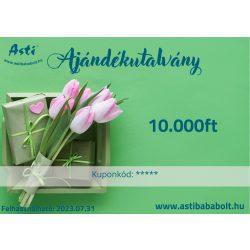Asti ajándékutalvány - 10.000 Ft értékű