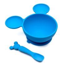 Disney szilikon tányér - Kék