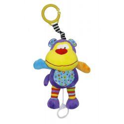 Lorelli Toys zenélő játék - Funny Monkey - Majmos