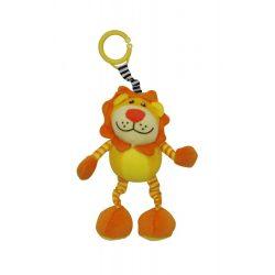 Lorelli Toys Ugró plüss vibráló oroszlán