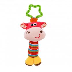 Lorelli Toys plüss csörgő - boci