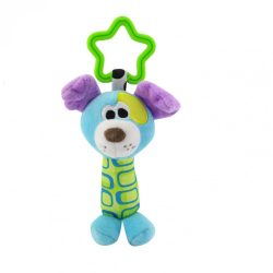 Lorelli Toys plüss csörgő - kutya