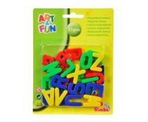 Simba Art & Fun Mágneses nagybetűk - 31 db