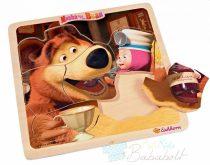 Masha és a Medve Puzzle - Ebéd