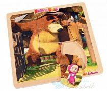 Masha és a Medve Puzzle - Séta