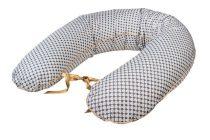 Bubaba szoptatós párna - Barna-szürke pöttyök