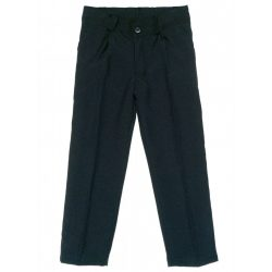 Fiú fekete alkalmi/ünneplő nadrág (méret: 92-140)