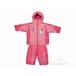 Hello Kitty baba és gyerek téli dzseki és kantáros