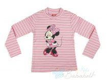 Disney Minnie bolyos baba, gyerek hosszú ujjú felső (méret:80-128)