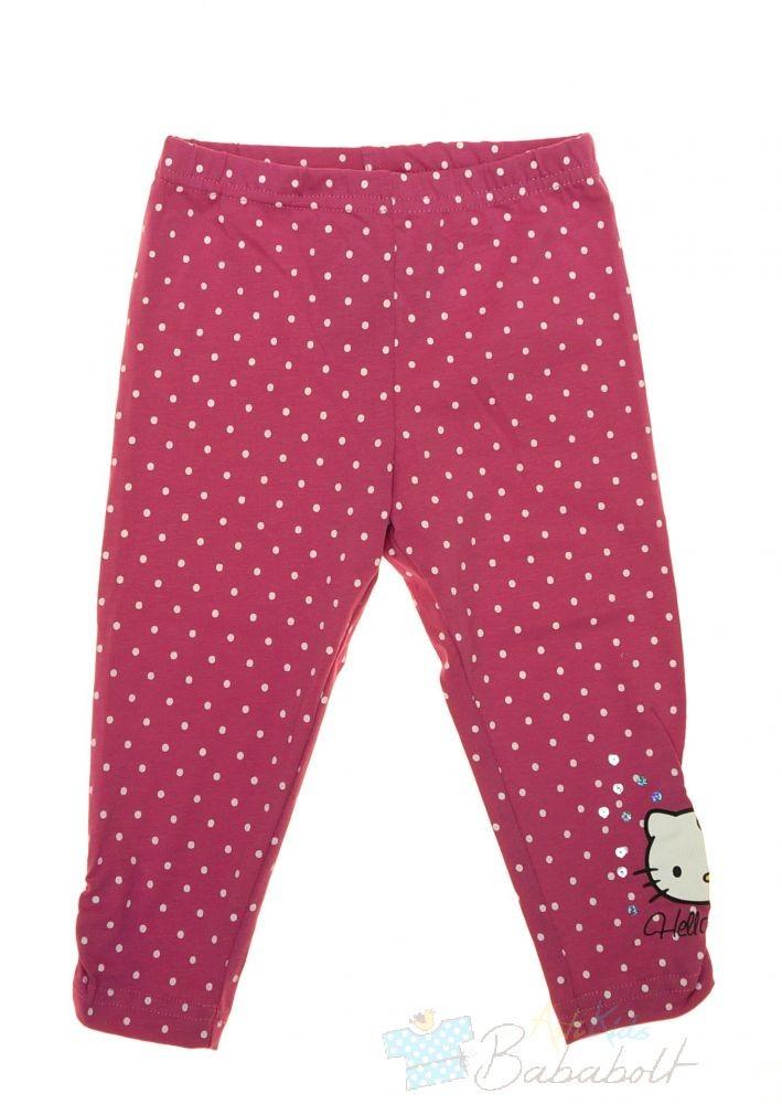 Hello Kitty gyerek pöttyös leggings (méret 92-128) b21cb925f6