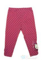 Hello Kitty gyerek pöttyös leggings (méret:92-128)
