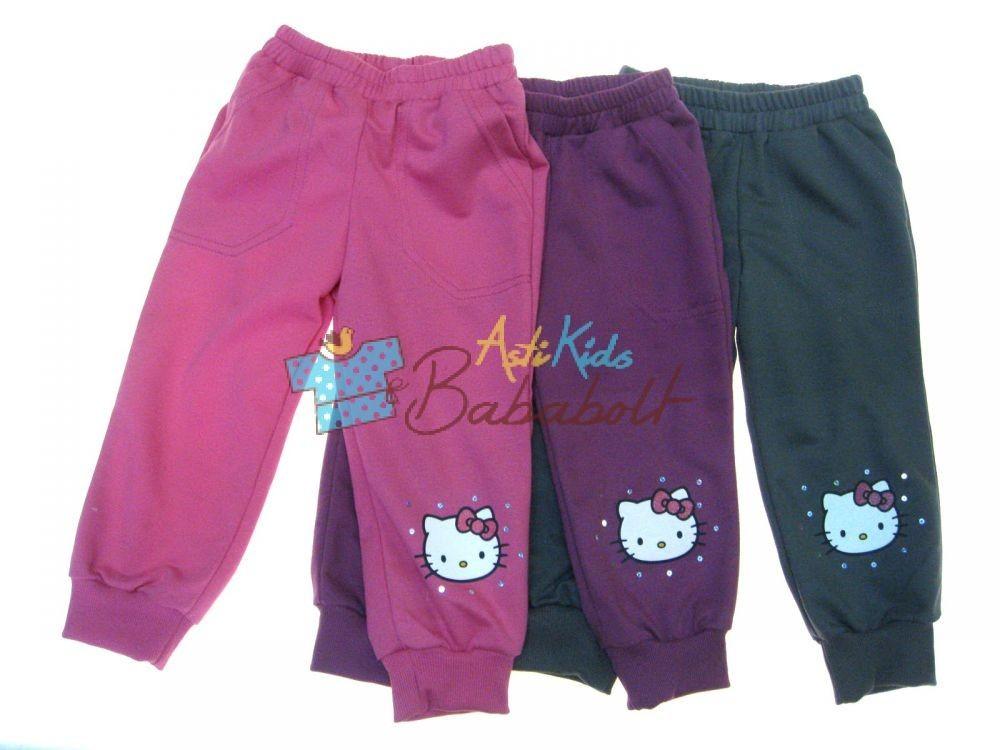 Hello Kitty gyerek szabadidő nadrág (méret  92-128) 5db8f563f6