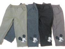 Disney Mickey bélelt baba és gyerek nadrág (méret: 80-128)
