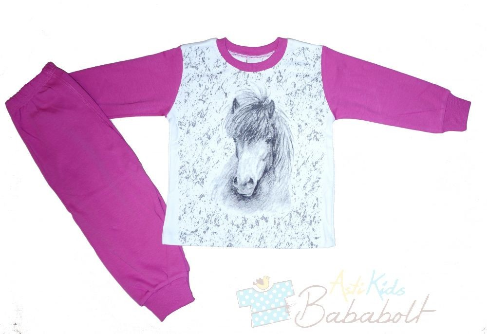 Horse characters child pajama (size 92-164) a9367473a4