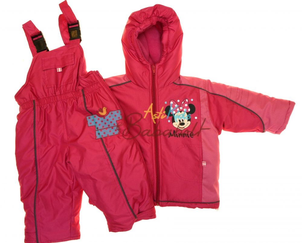 a9058b643f Disney Minnie baba és gyerek dzseki és kantáros nadrág - Babaruha ...