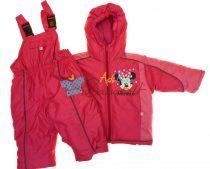 Disney Minnie baba és gyerek kabát és kantáros nadrág(méret:80- 122)