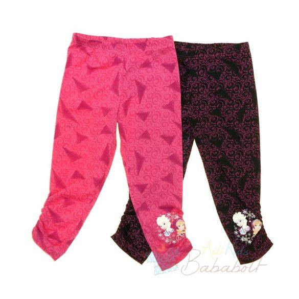 8257eea8be Disney Jégvarázs mintás gyerek 3/4-es leggings (méret:104-134)