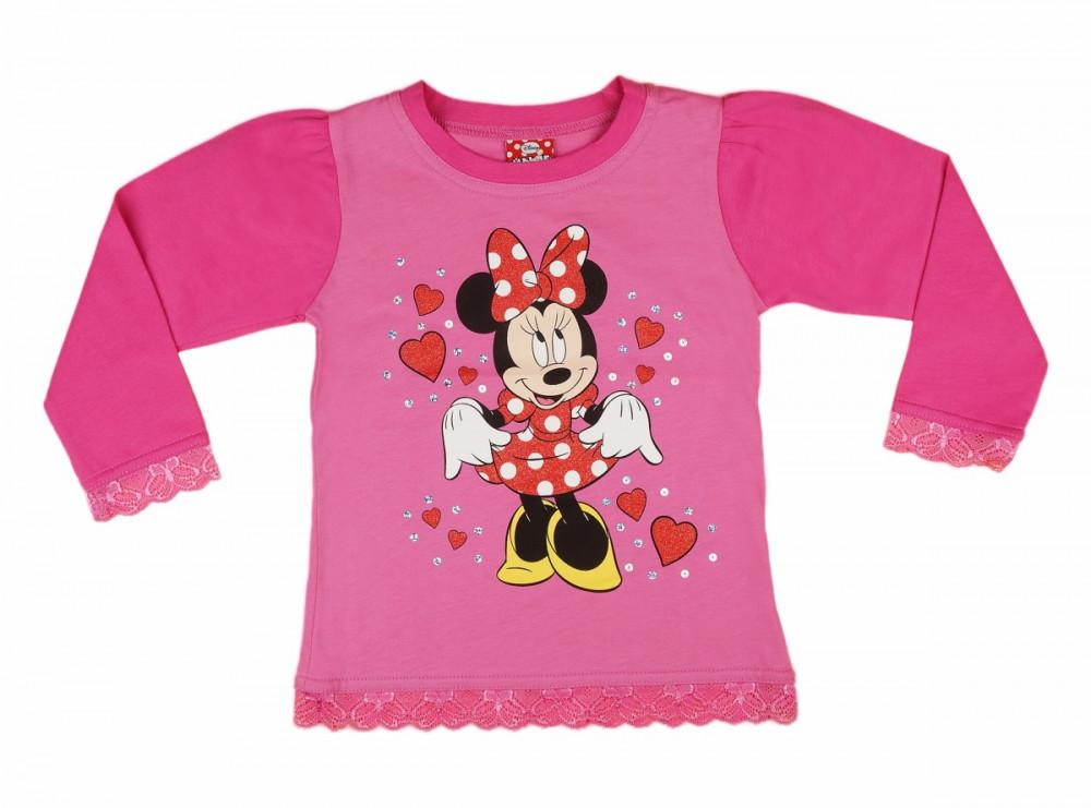 Disney Minnie hosszú ujjú póló (méret 86-122) 6214c472a4