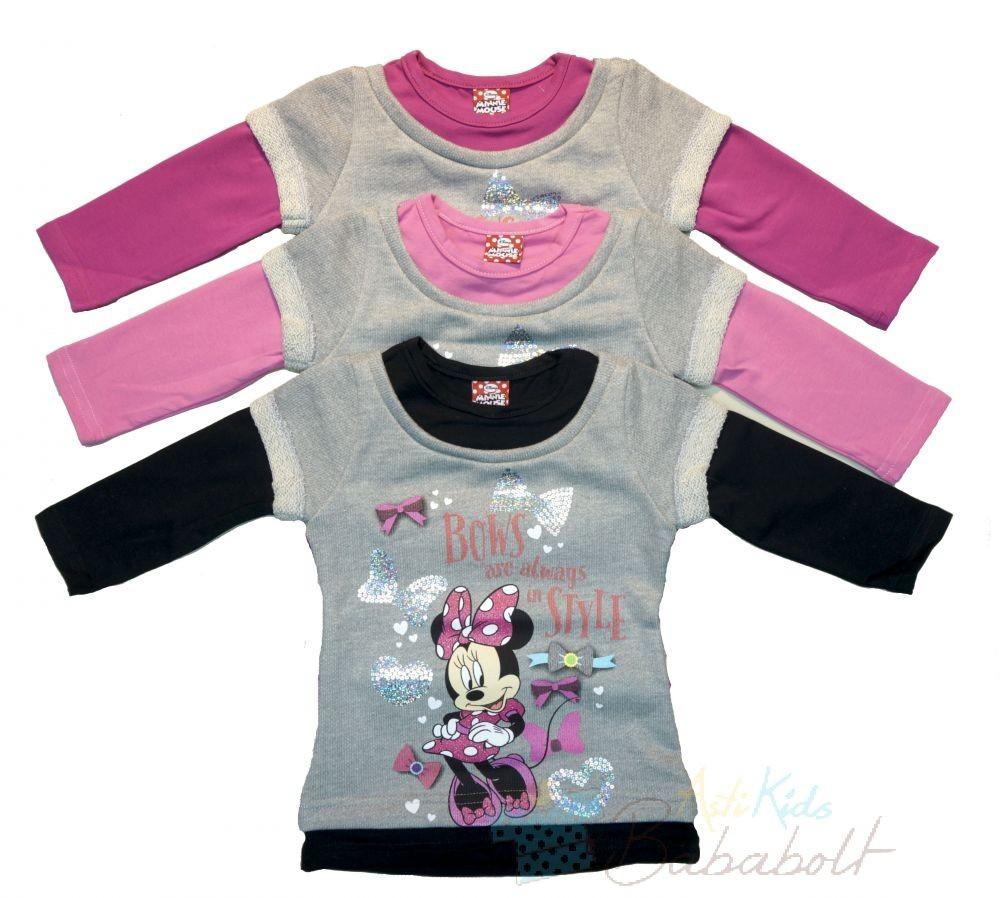 48a8a7984e Disney Minnie baba, gyerek pulóver (méret:86-104)