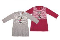 Disney Minnie hosszú ujjú lányka ruha (méret: 86-122)