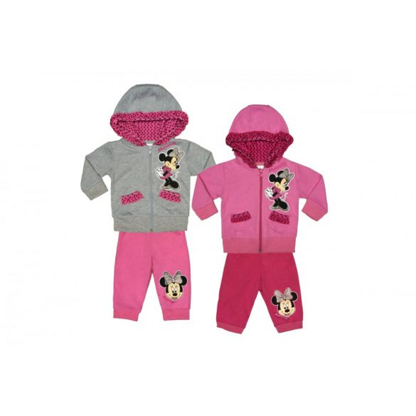 Disney Minnie baba gyerek kapucnis szabadidő szett (méret  62-92) e0dba5c5d1